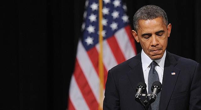 El presidente Barack Obama habla el domingo 16 de diciembre en la vigilia para recordar a las 26 personas que murieron en la masacre del viernes 14 en Sandy Hook Elementary School.