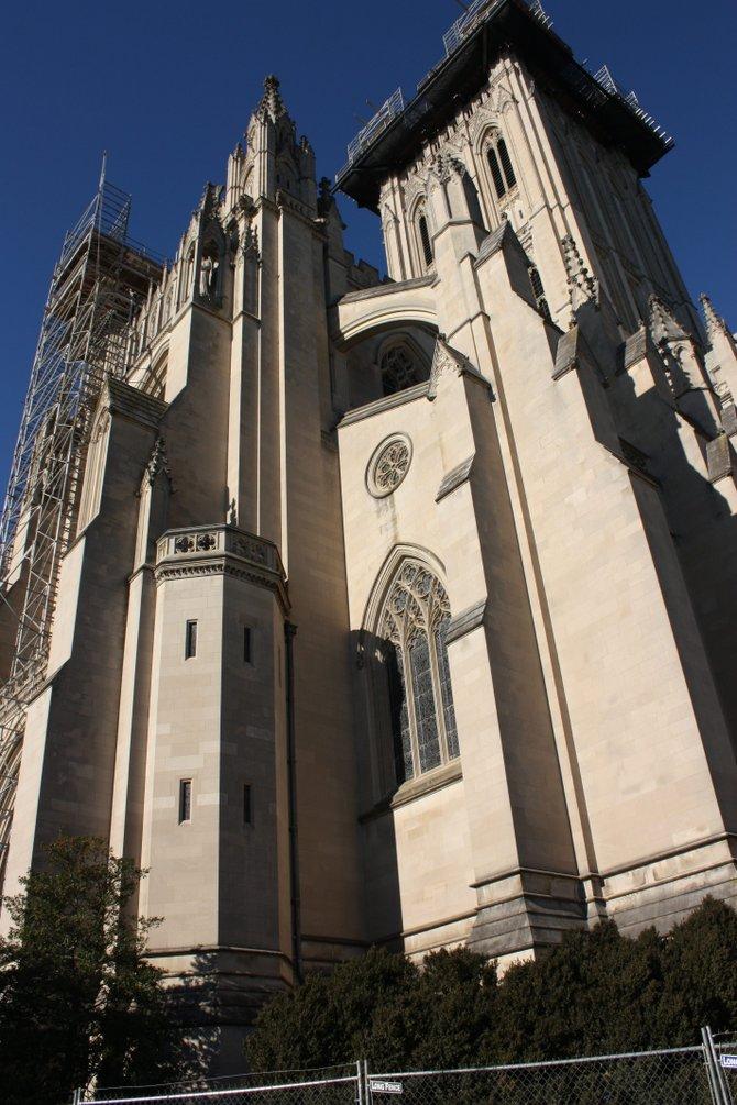 La Catedral Nacional en DC, se dañó con el terremoto de 2011.