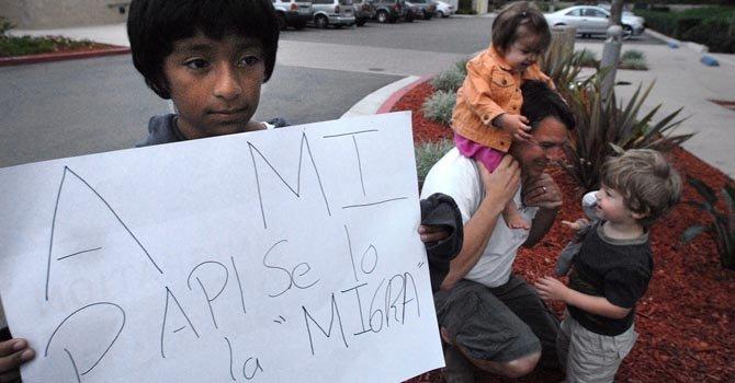 El 23 por ciento de los inmigrantes deportados tienen hijos nacidos en el país.