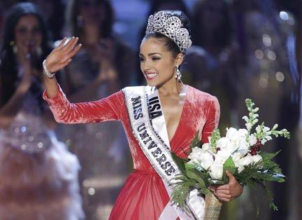Miss Estados Unidos fue coronada el miércoles 19 de diciembre como Miss Universo 2012.