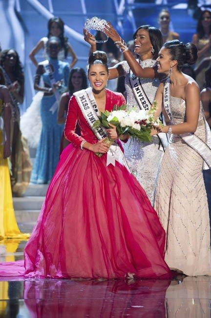 Miss Estados Unidos, Olivia Culpo fue coronada como Miss Universo 2012.
