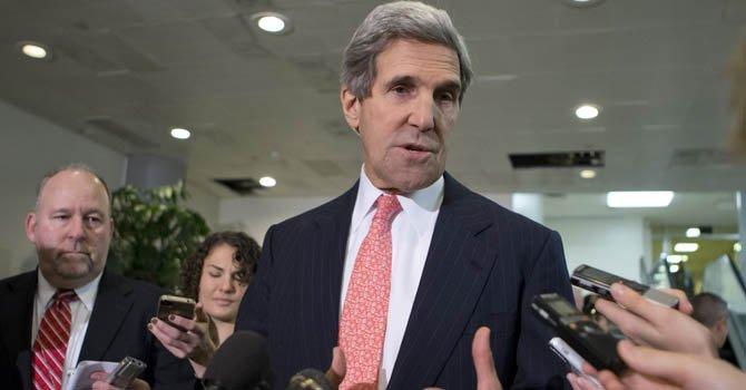 El presidente de la comisión de relaciones exteriores del Senado, el demócrata John Kerry, de Massachussetts, habla sobre la investigación del mortífero ataque del 11 de septiembre en el consulado de Bengazi en Libia.