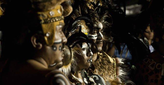 Ritos y actividades por el cambio de era maya