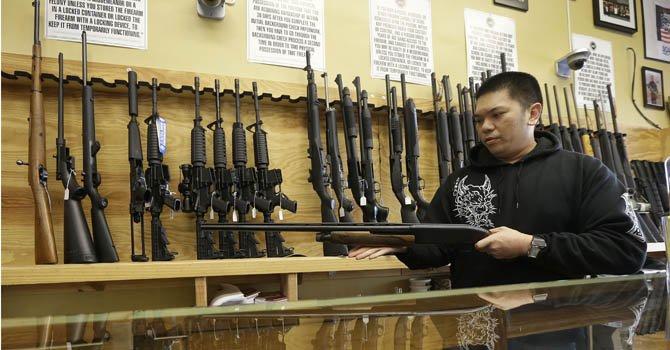 En Harrold,Texas los maestros pueden llevar armas a las escuelas para protección personal.
