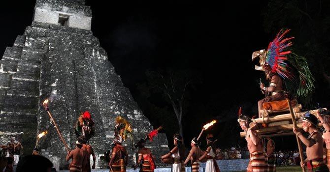 Guatemala celebra cambio de era Maya