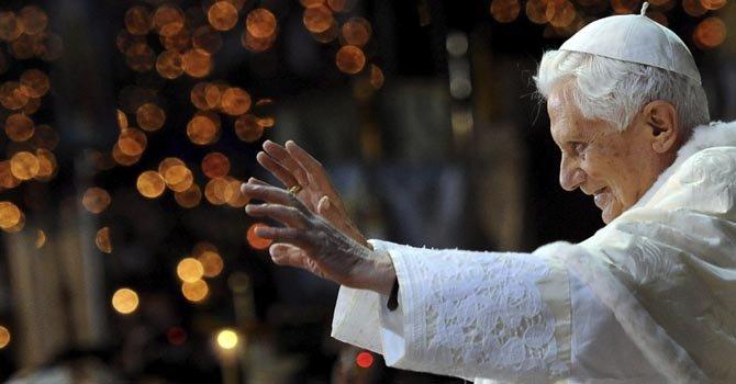 """Benedicto XVI dice en Navidad: """"Cristo es la esperanza"""""""