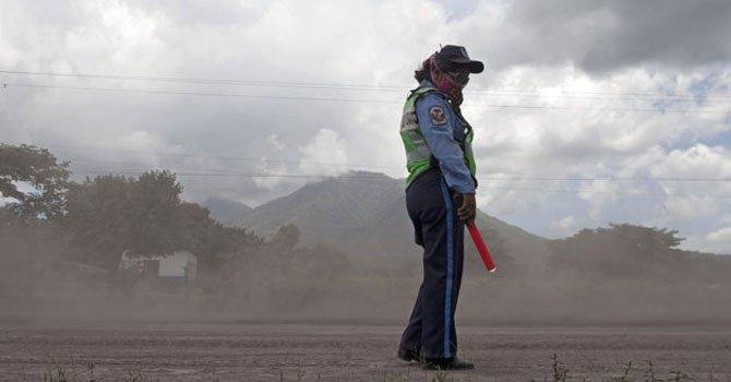 El Volcán de San Cristobal en Nicaragua registró emanación de gases el miércoles 26 de diciembre.