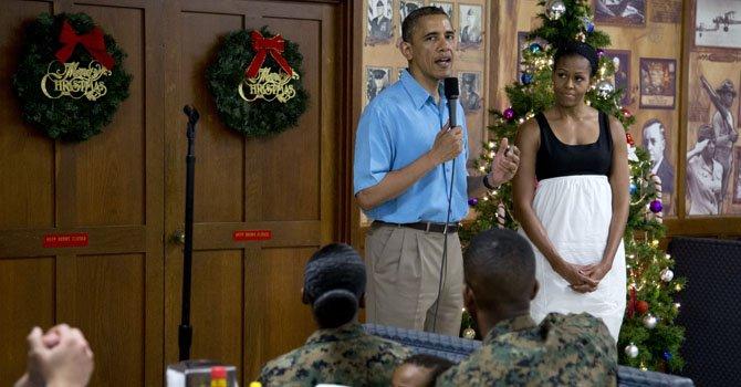 Obama acortará sus vacaciones por abismo fiscal