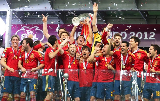 La selección española confirmó su estatus de reina del fútbol actual tras alcanzar un hito histórico de revalidar el título continental en la Eurocopa, doblete que unió al Mundial de Sudáfrica.