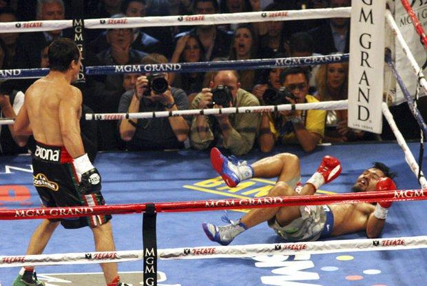 El 8 de diciembre el mexicano Juan Manuel Márquez noqueó de forma espectacular al filipino Manny Pacquiao en la cuarta en la cuarta pelea entre ambos boxeadores.