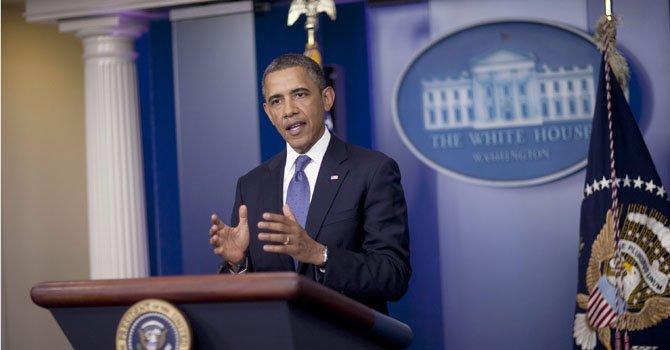 El presidente Barack Obama se reunió con miembros clave del Congreso el viernes 28 de diciembre.
