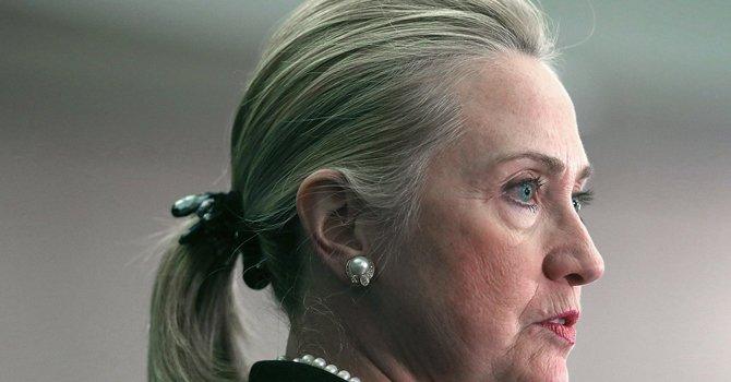 La secretaria de Estado, Hillary Clinton.