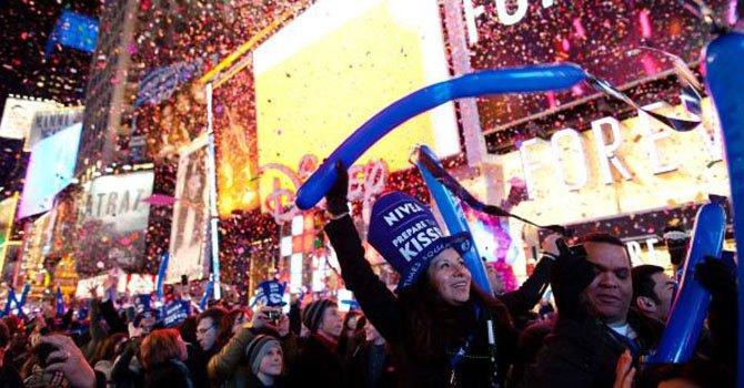 La Policía de Nueva York ha intensificado las medidas de seguridad para las celebraciones de Año Nuevo el 31 de diciembre.