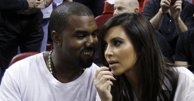 Kim Kardashian y Kanye West esperan su primer hijo