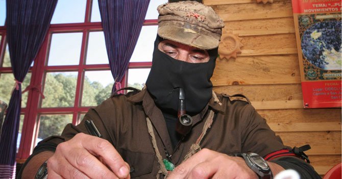 Líder zapatista anticipa nuevas iniciativas