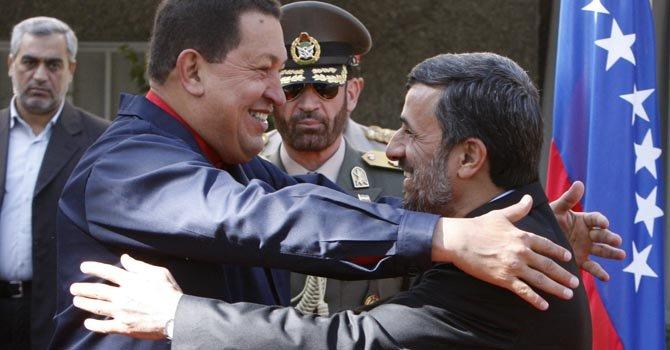 Chávez, amigo de todos menos de EE.UU.