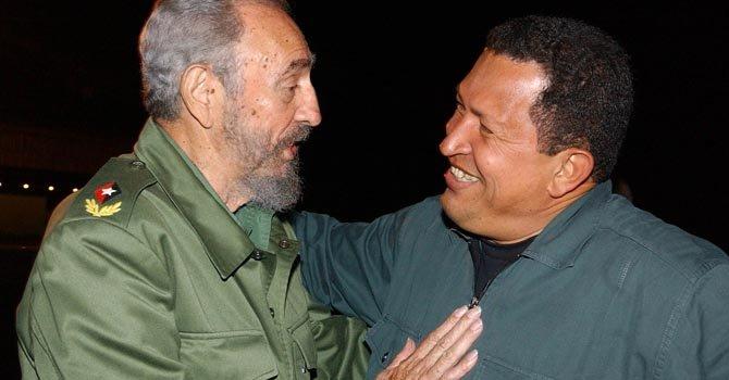 Hugo Chávez fiel a Fidel Castro