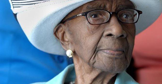 Mamie Rearden nació en 1898 y estuvo casada 59 años.