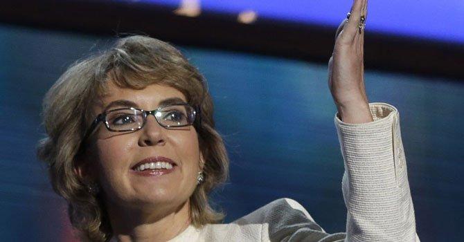 La ex legisladora de Arizona, Gabrielle Giffords.