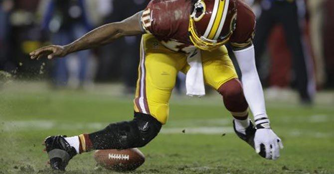 Griffin III terminó lesionado en el partido ante los SeaHawks, en el FedExField de Maryland.