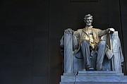 El monumento a Lincoln, un ícono de la ciudad capital.