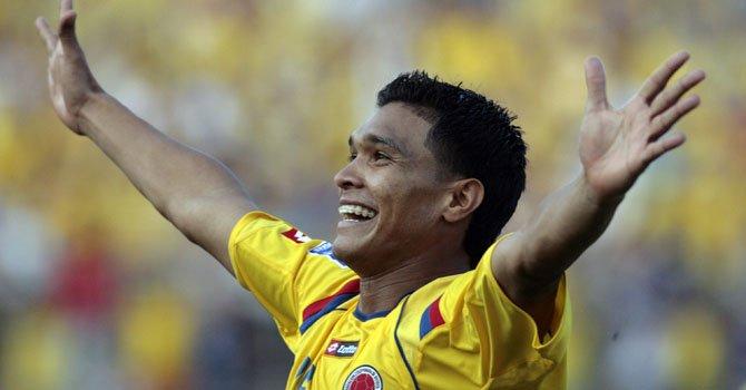El delantero colombiano Teófilo Gutiérrez jugará con el Cruz Azul de la primera división de México.
