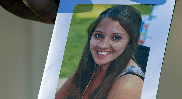 La fotografía de la maestra Victoria Soto, una de las víctimas de la masacre de Newtown.