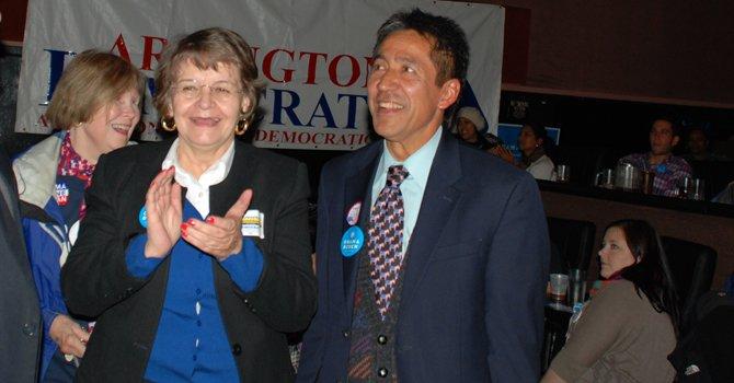 Celebran logro histórico de políticos latinos en Virginia