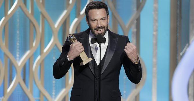 """Ben Affleck triunfa con """"Argo"""" en los Golden Globe"""