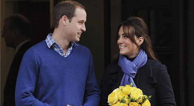 William y Kate son papás por primera vez.