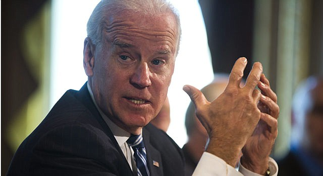 El vicepresidente Joe Biden.