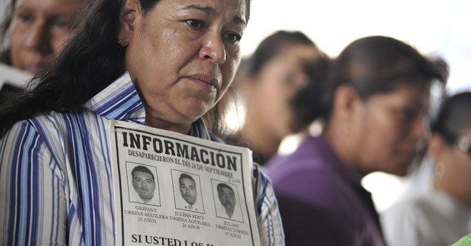 México: familiares de desaparecidos piden justicia