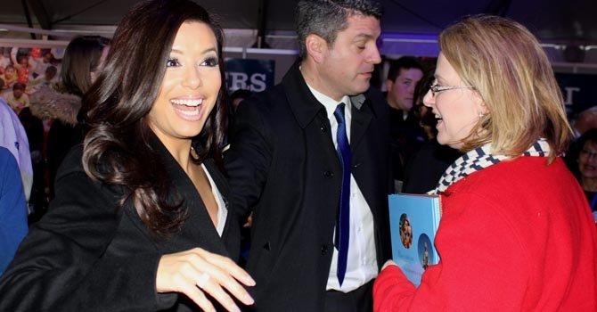 Eva Longoria fue una de las hispanas que más trabajó por la reelección de Obama.