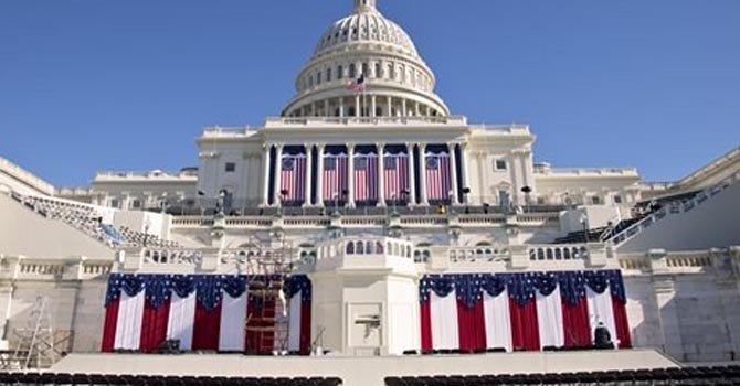 Obama juró en privado el domingo 20. La fiesta popular es hoy, lunes 21.