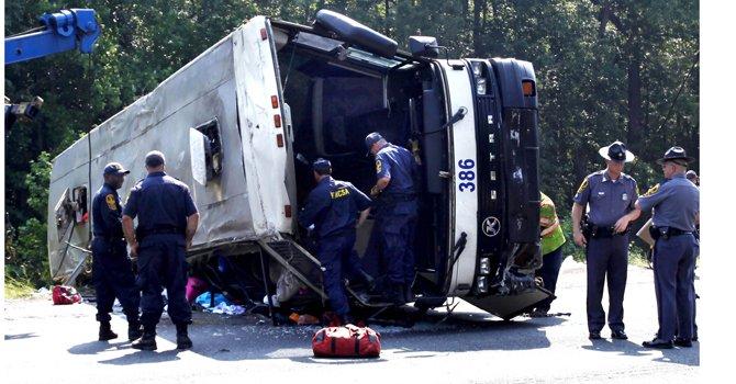 En el accidente ocurrido en mayo de 2011, en la Interestatal 95, en Virginia, murieron 4 personas.