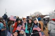 Estudiantes de la Alisal High School, en Monterey llegaron a DC como parte de una delegación, de 70 alumnos y maestros.