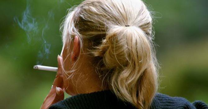 Fumadoras en alto riesgo de cáncer de pulmón