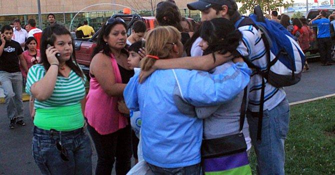 Terremoto de 6,8 grados sacude a Chile