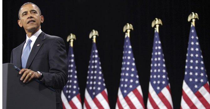 El presidente Barack Obama, habla el martes 29 de enero en Las Vegas sobre su plan para una reforma migratoria que legalice a la población indocumentada.