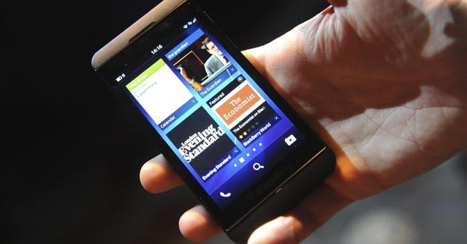 Nueva versión del blackberry