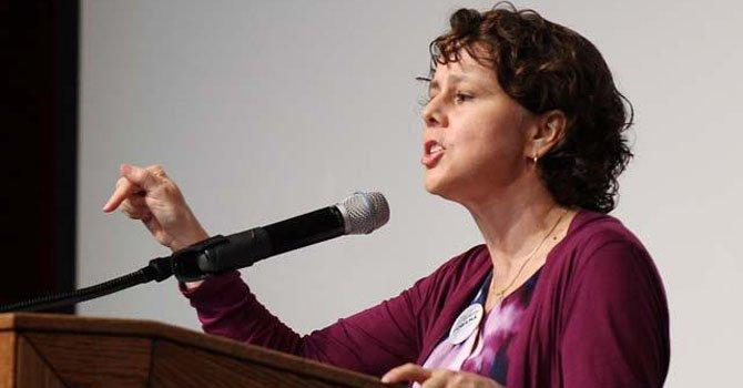 La directora del Consejo de Política Interior de la Casa Blanca, Cecilia Muñoz.