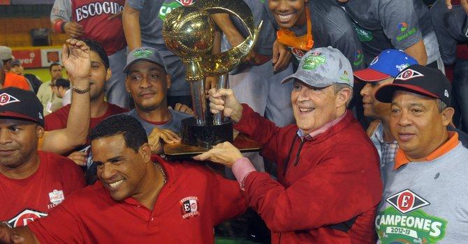Los Leones del Escogido representarán a la República Dominicana en la Serie del Caribe de béisbol que comienza el viernes 1 de febrero en Hermosillo, México.