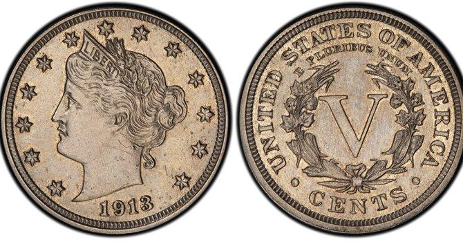 La moneda de 5 centavos que data de 1913 valdría millones.