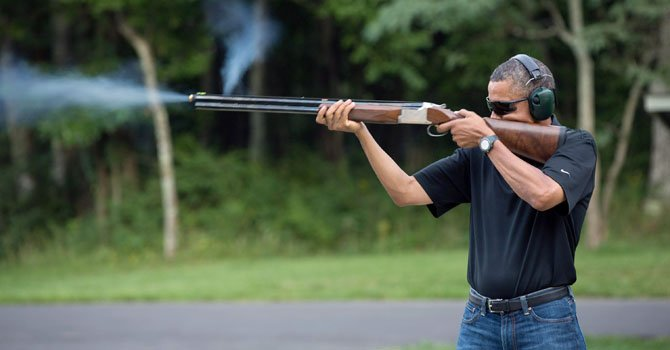 Obama empuja el control de armas