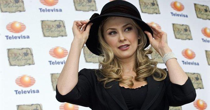 La actriz mexicana Aracely Arámbula.