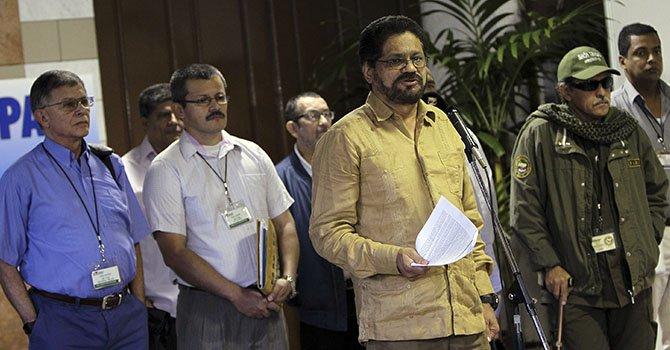 Las FARC proponen legalizar algunos cultivos de coca, marihuana y amapola