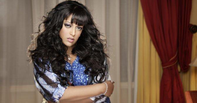 """La cantante puertorriqueña """"La India""""."""