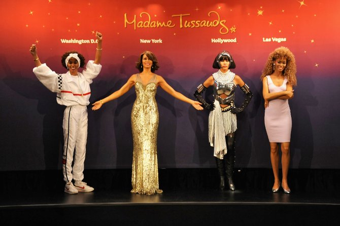 Las estatuas de Whitney Houston estarán en Las Vegas, Hollywood, Nueva York y Washington, DC.
