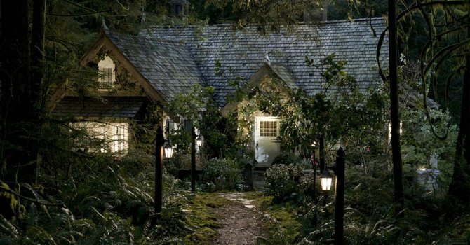 """¿De quién es esta casa?. Muchas parejas sueñan con la cabaña de Bella y Edward de """"Twilight""""."""