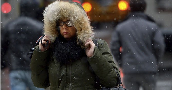 El noreste del país se prepara para tormenta de nieve